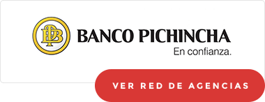Red de agencias Banco Pichincha