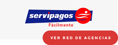 Red de agencias Servipagos